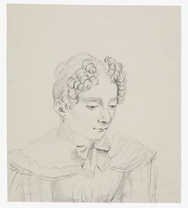 Portret van een vrouw uit de familie Kemper