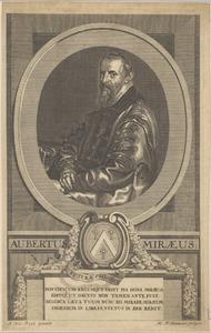 Portret van Aubertus Miraeus (1573-1640)