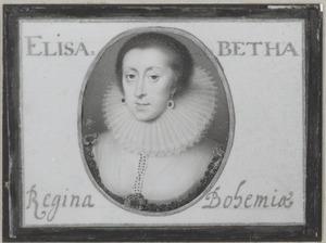 Portret van Elisabeth Stuart (1596-1662)