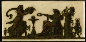 Vrouwen en amorini offerend aan de Liefde