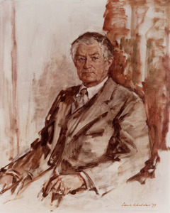 Portret van Willem Albert Steenstra Toussaint (1916- )