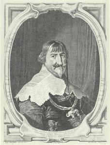 Portret van koning Christiaan IV (1577-1648) van Denemarken