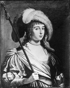 Portret van een vrouw, mogelijk een prinses van de Palts