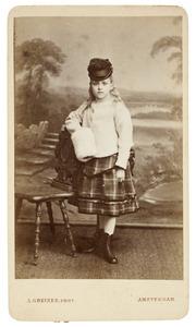 Portret van Joanna Henriette van de Poll (1865-1916)