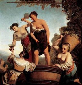 Allegorie op de wijnoogst