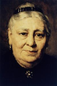 Portret van Helena Maria Anna Jonckbloet (1846-1928)