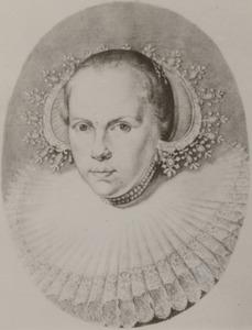 Portret van Brigitta Spiegel (1606-1668)