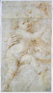 Isabella Brandt en haar zoon Albert of Nicolaas (?)