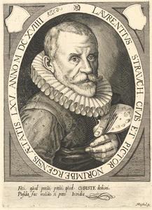 Portret van Lorenz Strauch (1554-1636)
