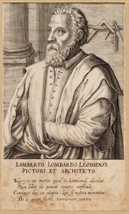 Portret van Lambert Lombard (1506-1566)