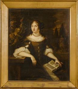 Portret van een vrouw, waarschijnlijk Jane Yarner of East Sheen