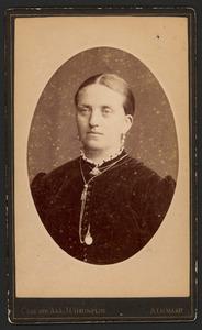 Portret van Mietje Breebaart
