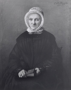 Portret van A. Ingenege ( -1860)