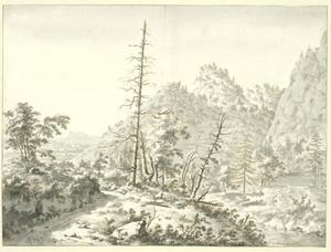 Heuvellandschap in de omgeving van Grenoble