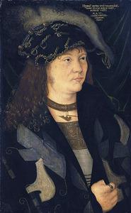 Portret van Hendrik, Graaf van Mecklenburg, bijgenaamd 'Der Friedfertige'