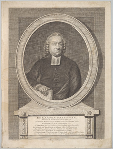 Portret van Benjamin Frieswijk (1731-1809)