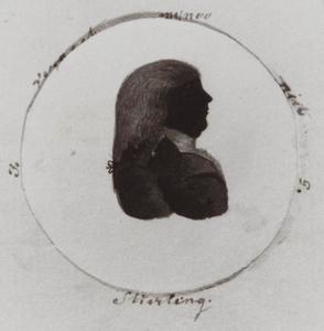 Portret van Johan Georg Stierling (....-1825)
