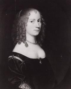 Portret van een vrouw, genaamd Maria de Casembroot (1621-1683)