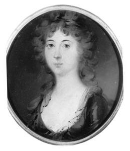 Portret van waarschijnlijk Sebilla Antoinetta van Renesse van Wilp (1777-1830)
