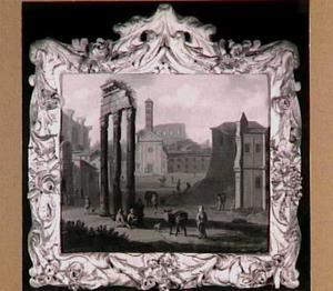 Gezicht op het Forum Romanum te Rome