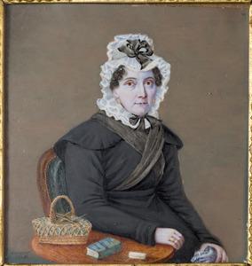 Portret van een onbekende dame