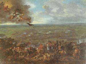 De slag bij Peterwardein/Petrovaradin, 5 augustus 1716: verpletterende overwinning van Oostenrijks-keizerlijke troepen onder Eugenius van Savoie over de numeriek sterkere Ottomaanse troepen onder Groot-vizier Damat Ali