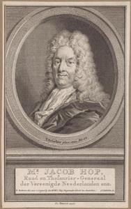 Portret van Jacob Hop (1654-1725)