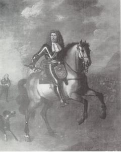 Portret van Friedrich Wilhelm de Grote Keurvorst van Brandenburg (1620-1688)