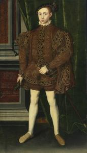 Portret van Koning Edward VI (12 oktober 1537 – 6 juli 1553)
