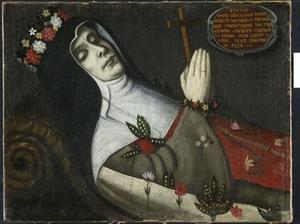 Portret van Maria Beeckmans (.... -1640)