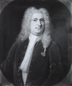 Portret van George Clifford (1685-1760)