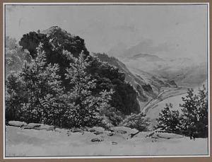 Heuvellandschap bij de Eems