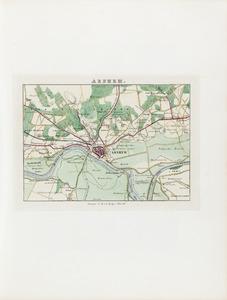 Plattegrond van Arnhem