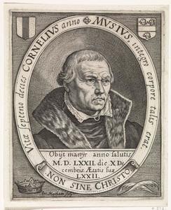 Portret van Cornelis Musius (1500-1572)