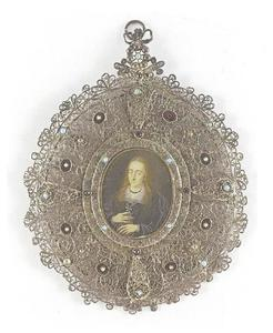 Portret van prinses Dorothea Hedwig van Brunswijk-Wolfenbüttel (1589-1608)