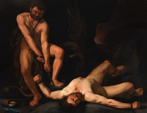 Hercules bevrijdt Prometheus