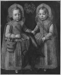 Portret van Homme (1607-1663) en Juw (1607-....) van Harinxma