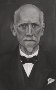 Portret van Hendrikus Leonardus Holtz (1852-1934)