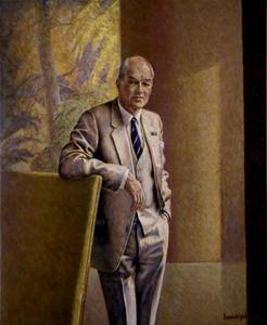 Portret van Jan Six (1919-1999)