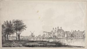 Gezicht over de Amstel op het Huis Bijgeval bij Uithoorn