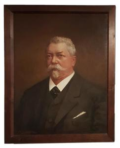Portret van Ludwig Wilhelm Schöffer (1831-1904)