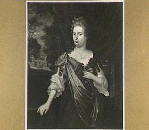 Portret van een vrouw, 1697