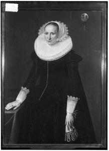 Portret van Mechteld van Geresteyn ( -1654)