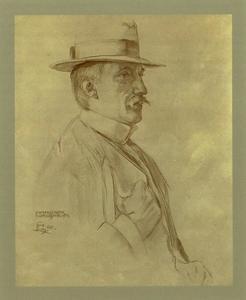 Portret van Piet Slager jr. (1871-1938)