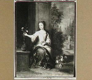 Portret van Ursula Christina Reiniera gravin van Reede (1719-1747), eerste echtgenote van Maximiliaan baron van Tuyll van Serooskerken