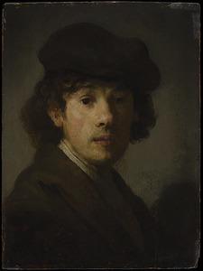 Rembrandt als een jonge man