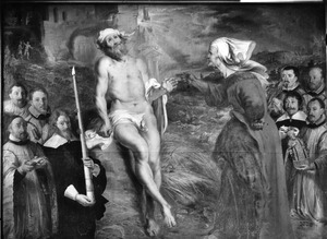 Job op de proef gesteld door zijn scheldende vrouw (Job 1-42)