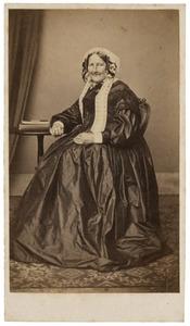 Portret van Johanna Christina Abbensets (1792-1866)