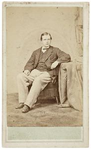 Portret van Balthasar Heldring (1839-1907)
