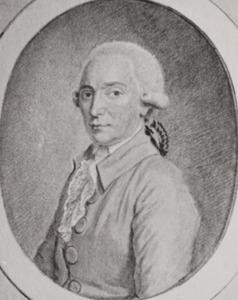 Portret van Diederik Hasselman (1743-1822)